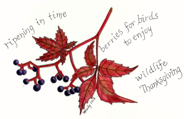 Thanksgiving Haiga